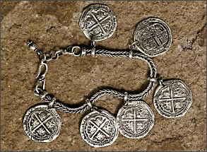 Pieces of Eight bracelet