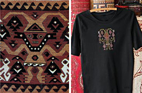 Chancay Warrior Textile and T-Shirt